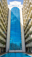 Pool view condominium in Niran Grand Ville on Central Pattaya Road.