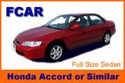 Honda Accord car rental in Bangkok city