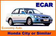 Honda City or Similar Car Rentals in Bangkok