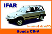 Rent a Jeep Honda CR-V in Pattaya beach