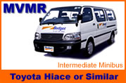 Pattaya Car Rentals Toyota Hiace for hire