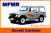 Rent a Car Suzuki Caribian in Pattaya