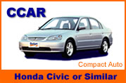 Honda Civic and Similar Cars for Rental in Thailand