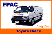 Rent a car rentals around Thailand Toyota Minivan and minibus for hire